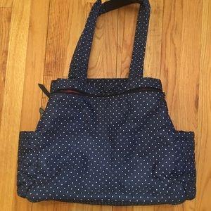 Skip Hop Bags - SKIP*HOP® Forma Pack & Go Tote Diaper Bag Navy Dot